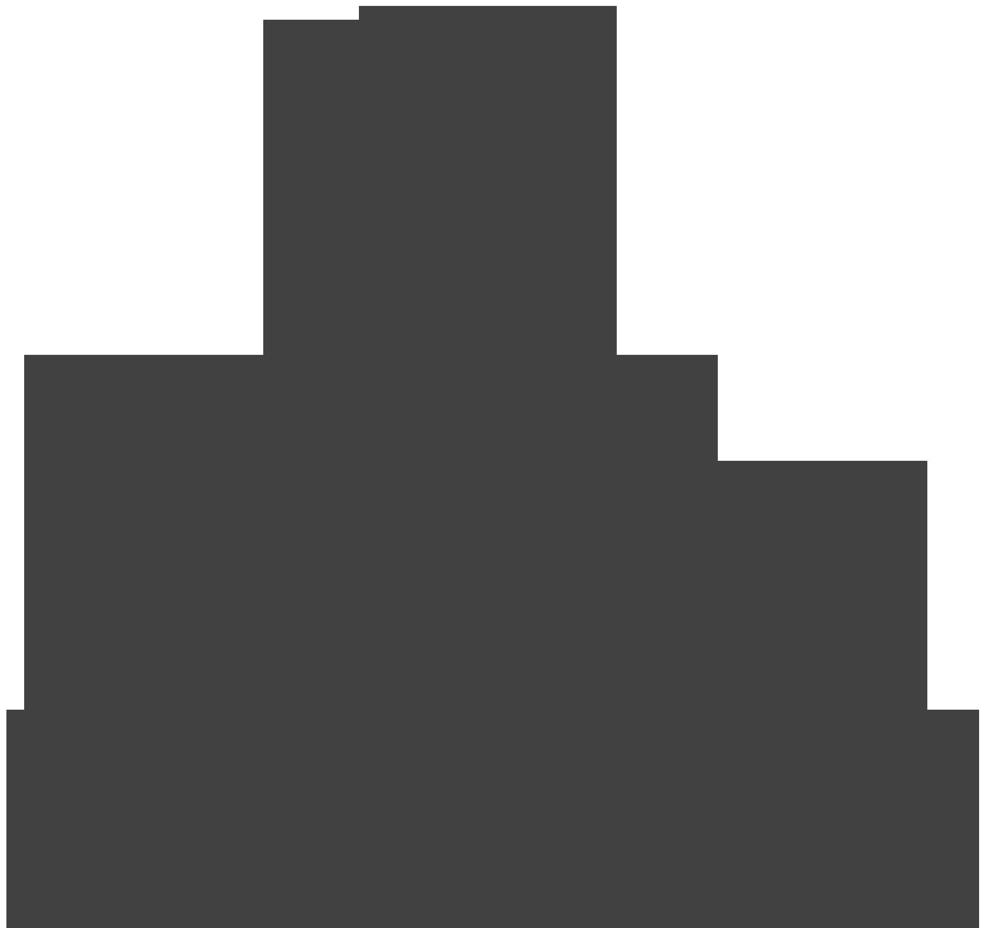 Silhouette of an APEX Portal client.
