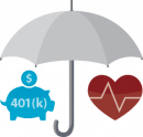 Health and Retirement Icon