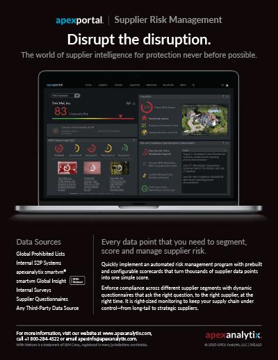 apexportal Risk Management Overview Image