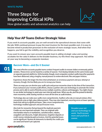 Improving Critical KPIs White Paper Cover