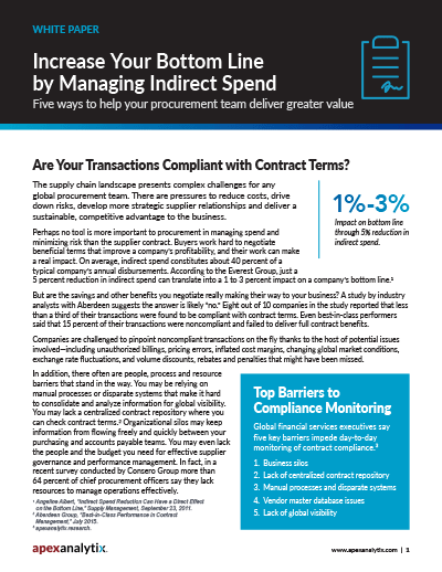 Contract Compliance White Paper Cover Image