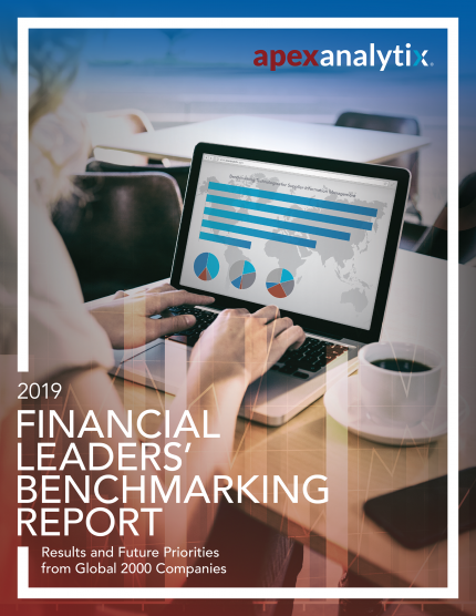 Financial Leaders Benchmark Survey Report 2019 Cover