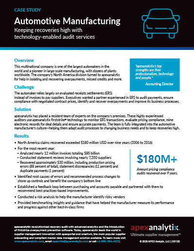 Global Automotive Manufacturing Case Study Image