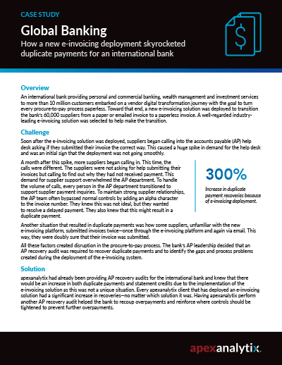 Banking Recovery Audit Case Study Image