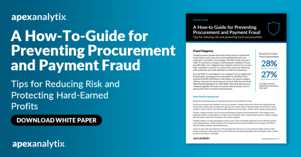A How-To-Guide for Preventing Procurement and Payment Fraud
