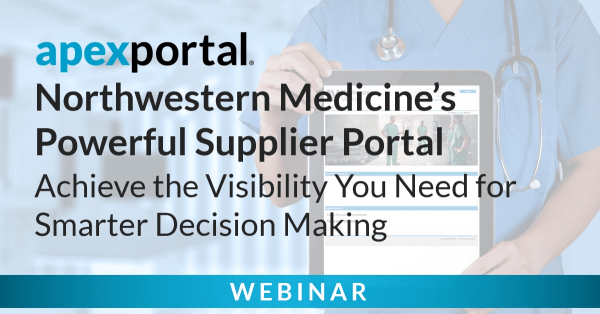 Webinar Northwestern Medicine's Powerful Supplier Portal Cover Image